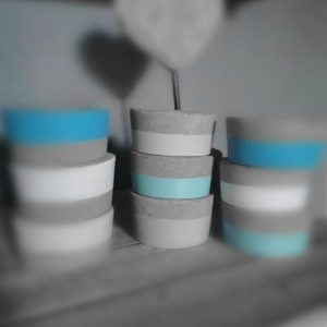 Tealight Candle Holders Painted