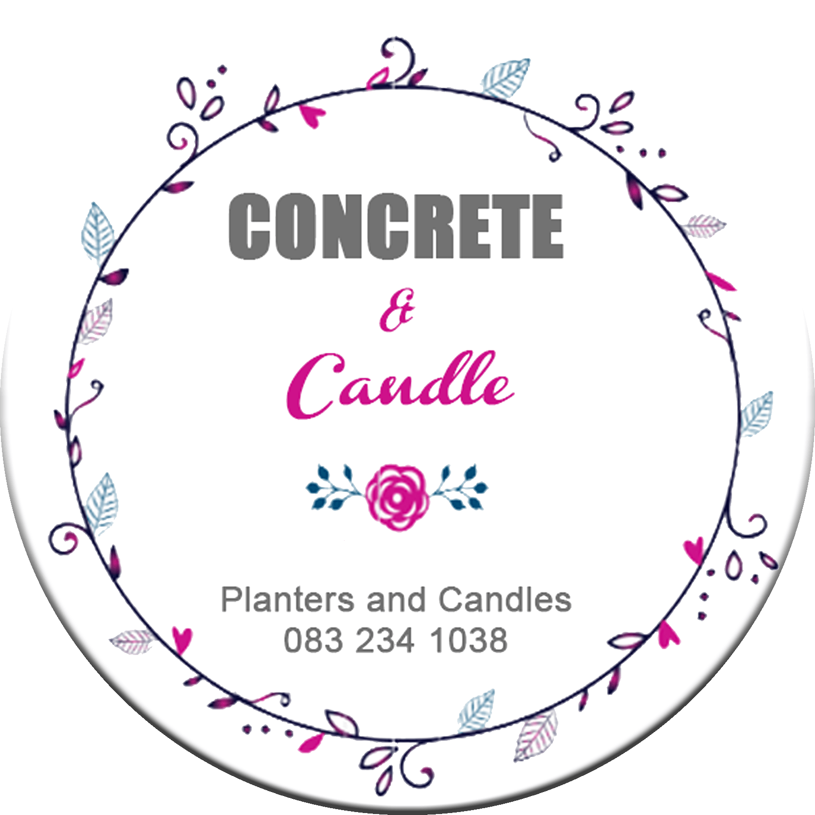 Concrete and Candle
